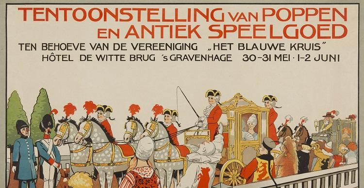 Affiche poppententoonstelling 1913