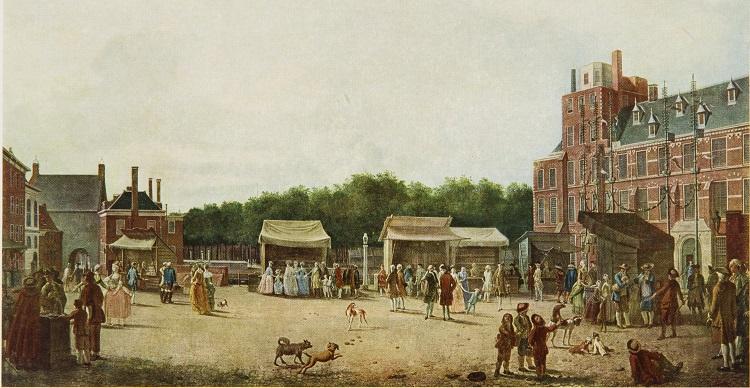 Kermis op het Buitenhof 1781 H. Pothoven