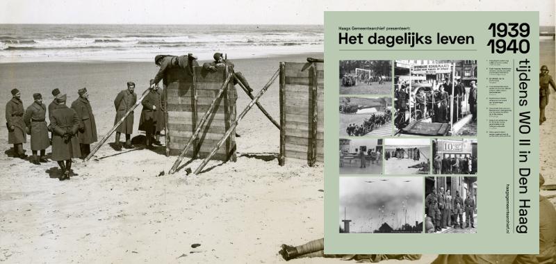 1940, sportwedstrijden op het strand te Scheveningen | Polygoon