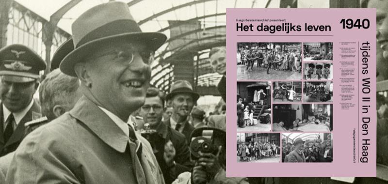 1940 Rotterdamse kinderen gaan op vakantie Seyss Inquart zwaait uit