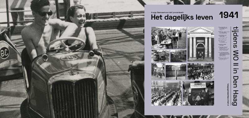 1941, strandvermaak met botsautootjes | Foto: Schimmelpenningh
